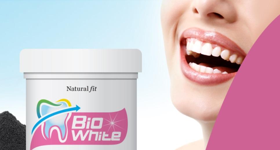 sbiancante per denti naturale biowhite